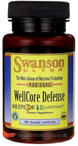 Swanson Ultra WellCore Defense with EpiCor® & Wellmune®
