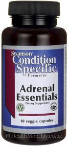 Swanson Condition Specific Formulas Adrenal Essentials