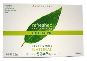 Tea Tree Therapy Lemon Myrtle Exfoliating Soap