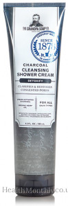 Grandpa's Charcoal Cleansing Shower Cream, Detoxify, Clarifies & Restores Congested Pores