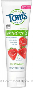 Tom's of Maine® Natural Children's Fluoride Toothpaste