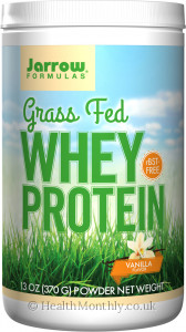 Jarrow Whey Protein Grass Fed