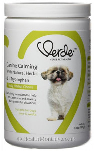 Verde Pet Health Canine Calming with Natural Herbs & L-Tryptophan