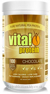 Vital Greens Pure Natural Pea Protein