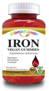 Vitamin Friends Iron Adult Gummies