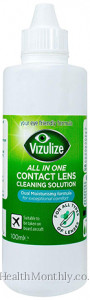 Vizulize All in One All Contact Lens Cleaning Solution