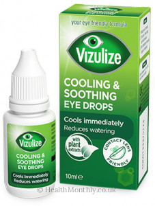 Vizulize Cooling and Soothing Eye Drops