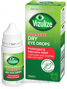 Vizulize Intensive Dry Eye Drops