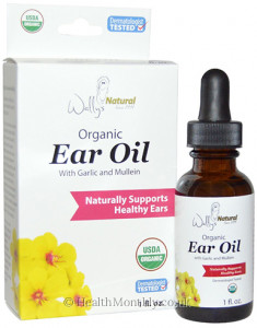Wally's Natural Organic Ear Oil