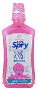 Xlear Kids Spry Mouth Wash with Xylitol Bubble Gum