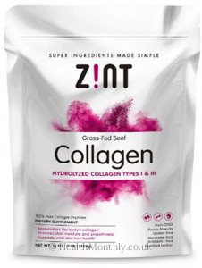 Zint Grass-Fed Beef Collagen Hydrolyzed Collagen Types I & III