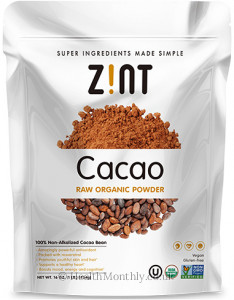 Zint Nutrition Cacao Raw Powder