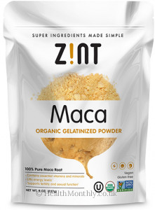 Zint Nutrition Maca Gelatinized Powder
