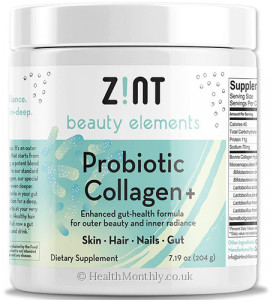 Zint Nutrition Probiotic Collagen+