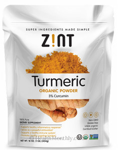 Zint Nutrition Turmeric Powder
