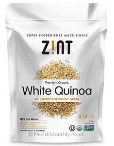 Zint Nutrition White Quinoa De-Saponized Whole Grain