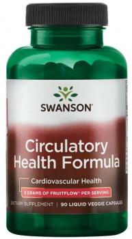 Health & Wellbeing|Heart & Circulation|Blood Pressure|Diet & Diabetic Products|Food Supplements Swanson Circulatory Health Formula (3 g, 90 Liquid Vegetarian Capsules)