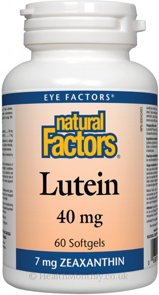 Natural Factors Lutein