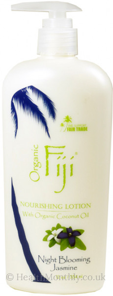 Organic Fiji Night Blooming Jasmine Moisturising Oil Lotion