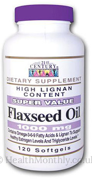 21st Century Flaxseed Oil