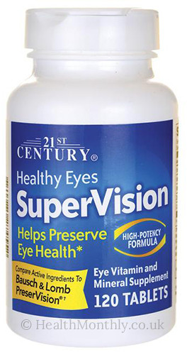 21st Century Healthy Eyes Super Vision