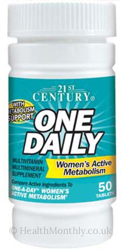 21st Century One Daily Women's Active Metabolism