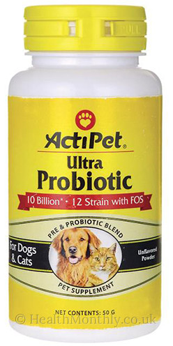 Actipet Ultra Probiotic Dogs and Cats