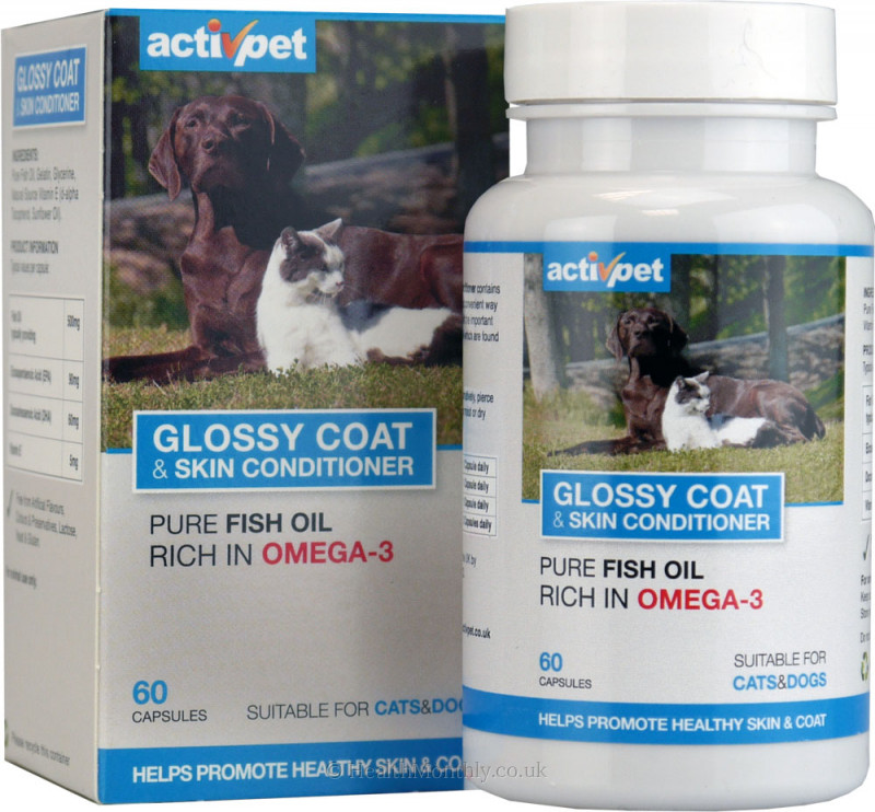 ActivPet Glossy Coat & Skin Conditioner