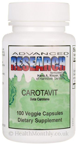 Advanced Research Nutrient Carriers Carotavit Beta Carotene