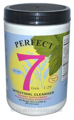 Agape Health Products Perfect 7 Intestinal Cleanser Powder