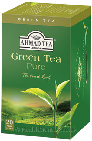 Ahmad Tea Green Tea & Flavoured Green Tea