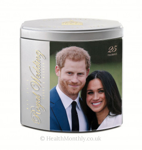 Ahmad Tea Harry & Meghan Wedding Caddy