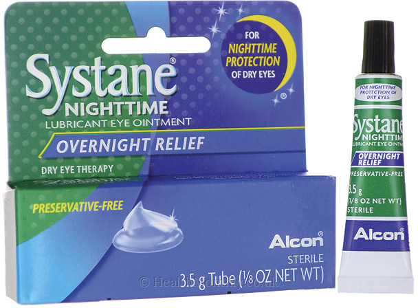 Alcon Systane Night Time lubricant Eye Ointment