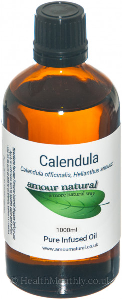 Amour Natural Calendula Infused Oil