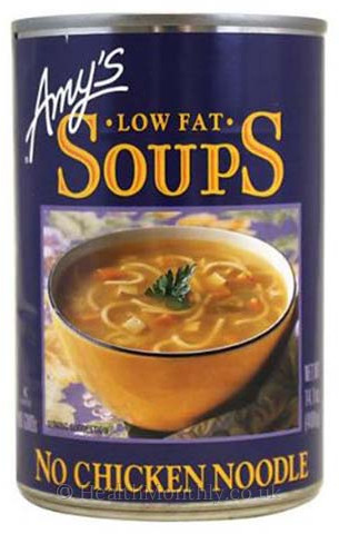 Amy's Kitchen Low Fat No Chicken Noodle Soup