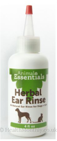 Animal Essentials Herbal Ear Rinse Liquid For Dogs & Cats
