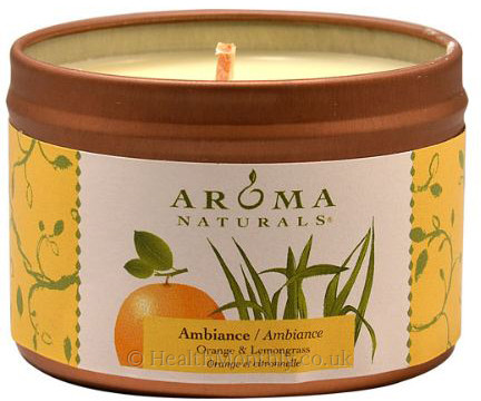 Aroma Naturals Ambiance Mini Tin Soy Candle