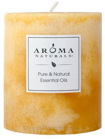 Aroma Naturals Ambiance Naturally Blended Pillar