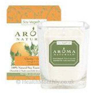 Aroma Naturals Clarity Soy Votive Candle