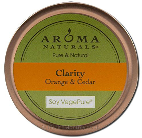 Aroma Naturals Clarity Tin Soy Candle