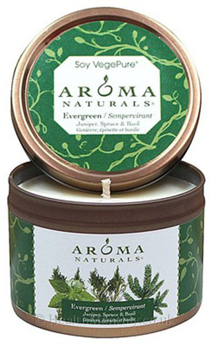Aroma Naturals Fresh Forest Evergreen Soy Vegepure Small Tin