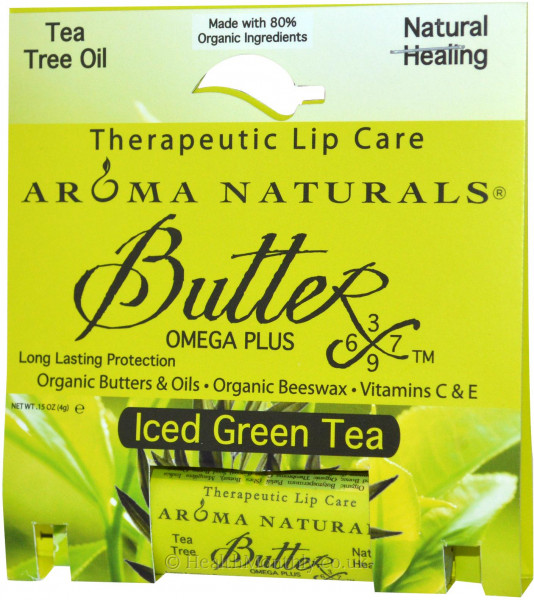 Aroma Naturals Iced Green Tea Lip Balm