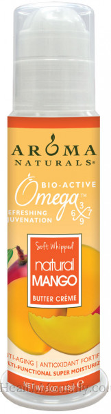 Aroma Naturals Soft Whipped Mango Butter Creme