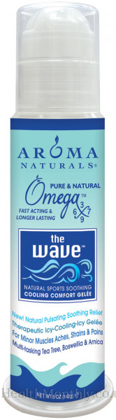 Aroma Naturals The Wave Sports Comfort Gelee