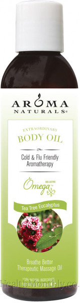Aroma Naturals Tea Tree & Eucalyptus Beauty Oil