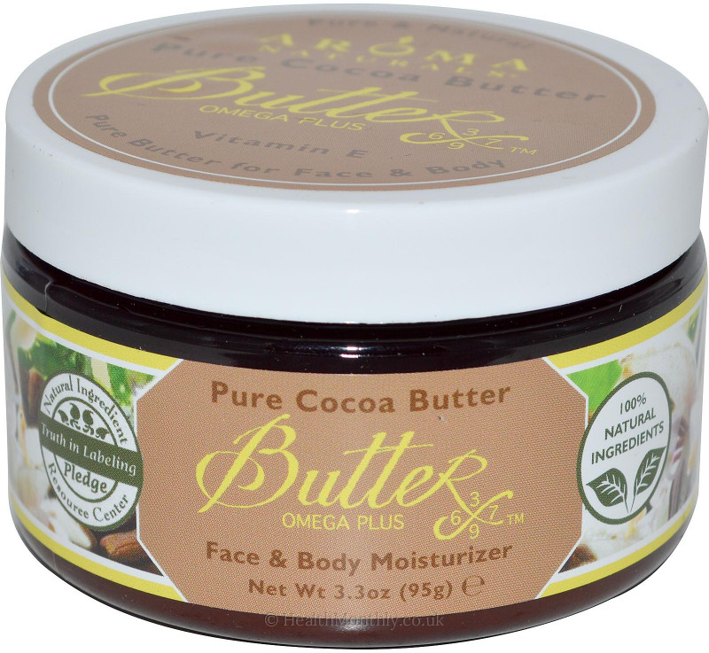 Aroma Naturals Pure Cocoa Face & Body Butter