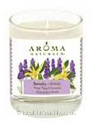 Aroma Naturals Serenity Glass Soy Votive Candle