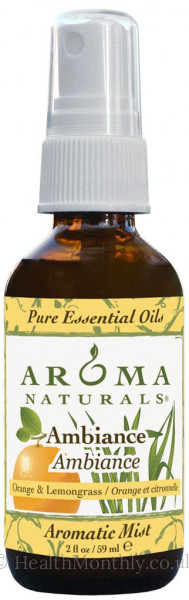 Aroma Naturals Ambiance Aromatic Mist Spray