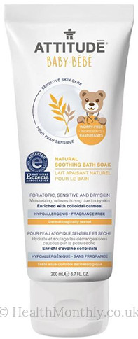 Attitude Baby-Bebe Senstive Skin Care Natural Soothing Bath Soak