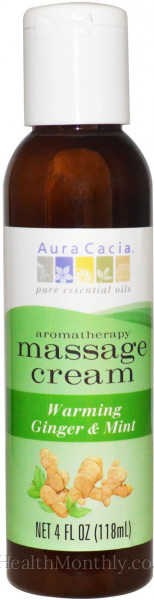 Aura Cacia Aromatherapy Massage Cream